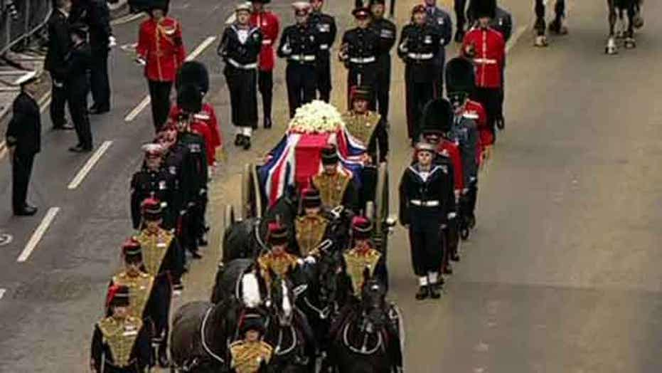 World leaders gather for Margaret Thatcher funeral