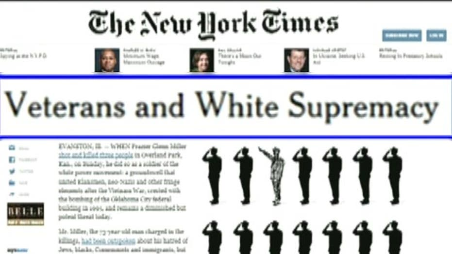 Outrage over NY Times op-ed linking veterans to hate groups