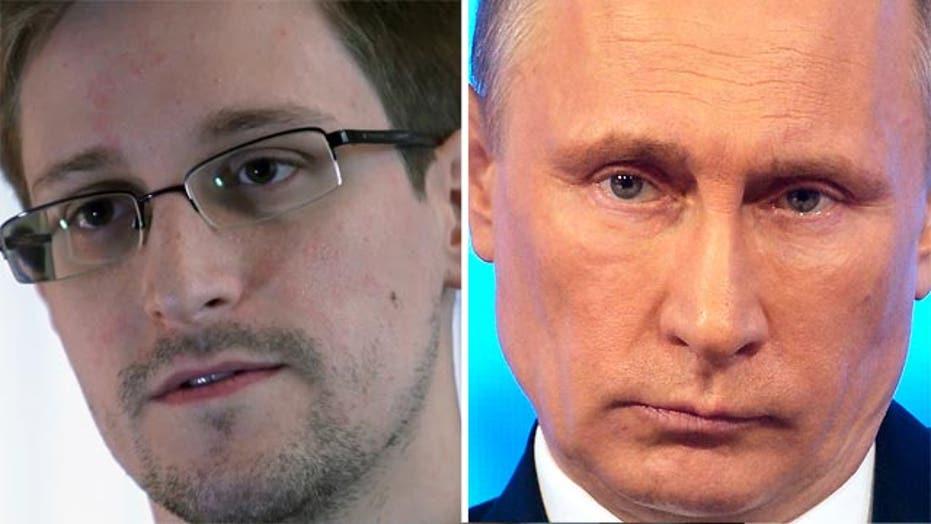 Edward Snowden asks Putin about Russian surveillance