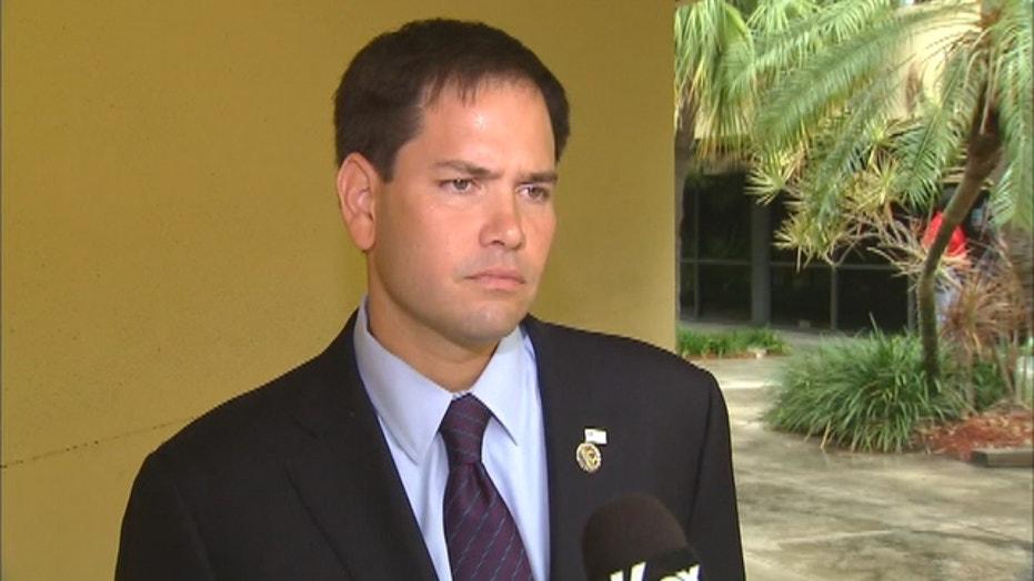 Rubio Calls For Tough U.S. Response To Venezuela