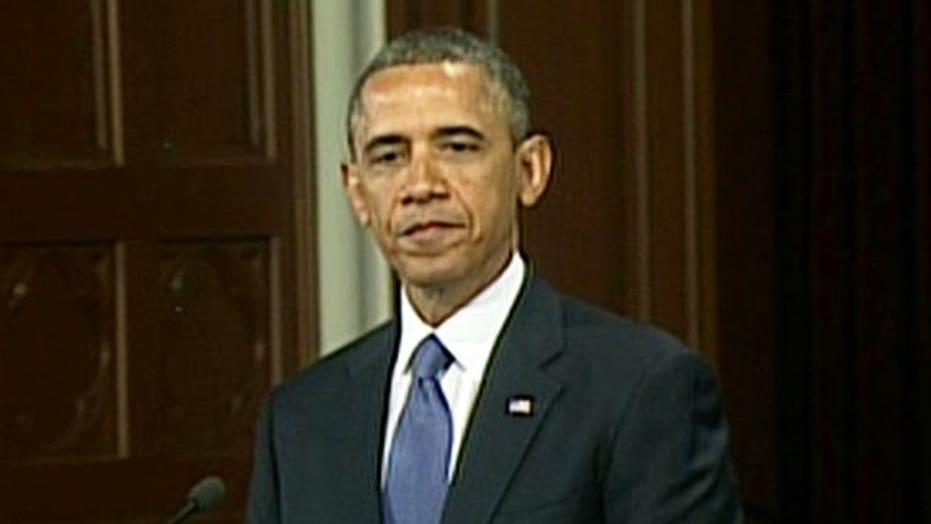 Obama: We carry on, we finish the race