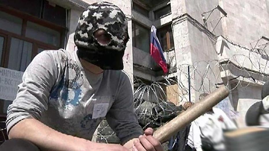 Pro-Russian separatists reject agreement over Ukraine crisis
