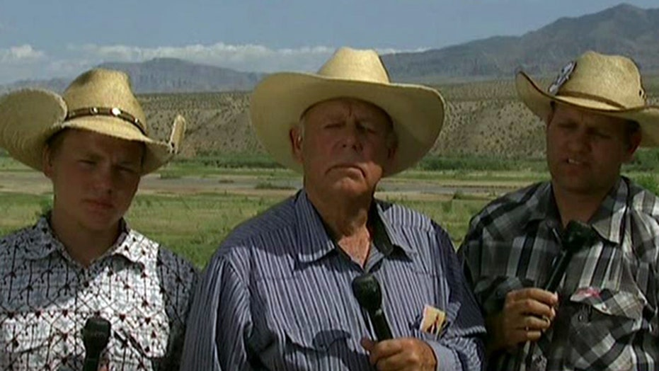 Cliven Bundy takes on the Nevada ranch rhetoric