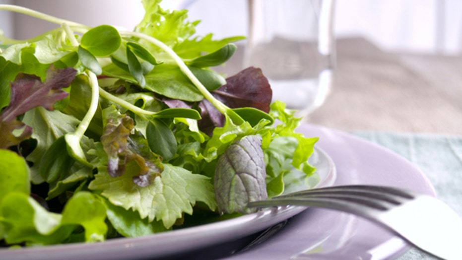 Leafy green makeover