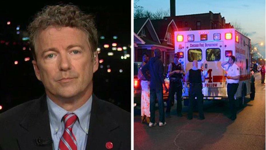 Sen. Rand Paul discusses the crime crisis in Chicago