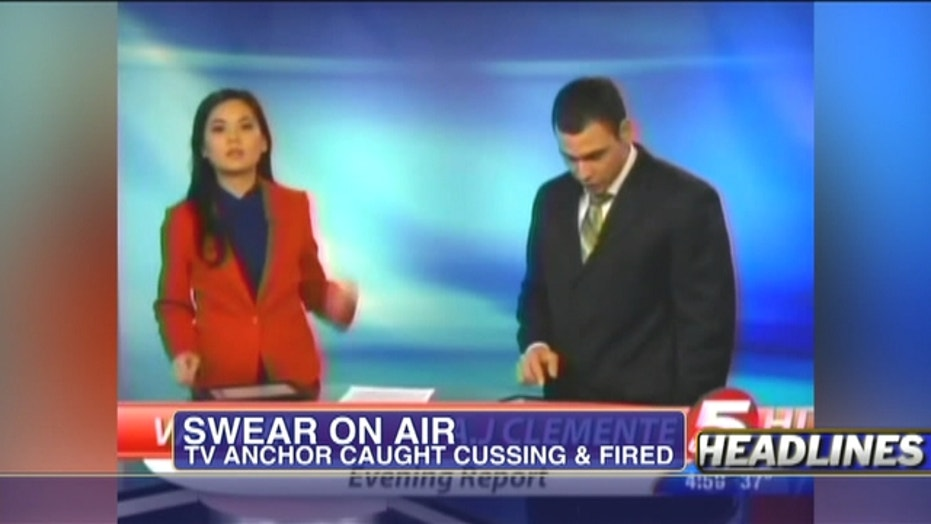 "Reporter Fired After Dropping ""F"" Bomb"