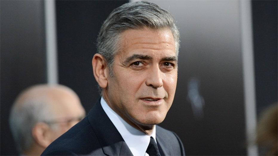 George Clooney loses his cool in Vegas