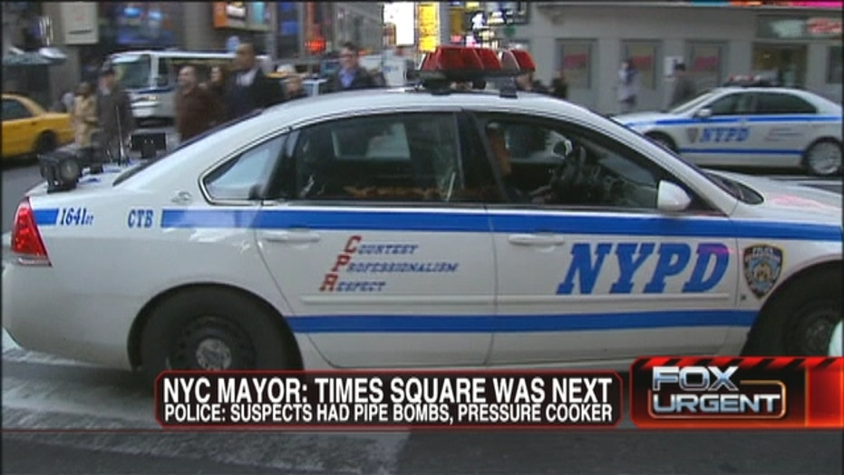 Accused Terrorists Eyed Times Square Next