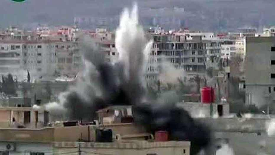 Sen. McCain: Assad regime crossed 'red line'