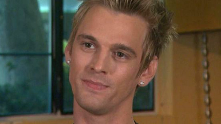 Aaron Carter drug admission