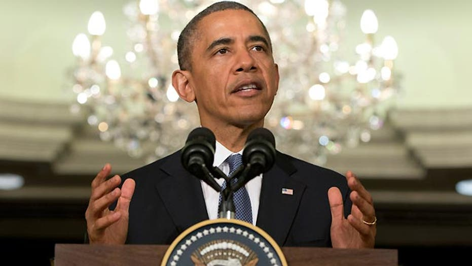 Obama launches vigorous defense of his foreign policy