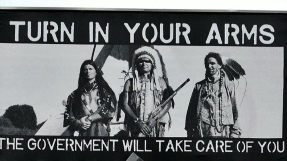 Controversy over pro-gun billboard in Colorado