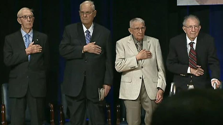 American WWII heroes given long-overdue recognition