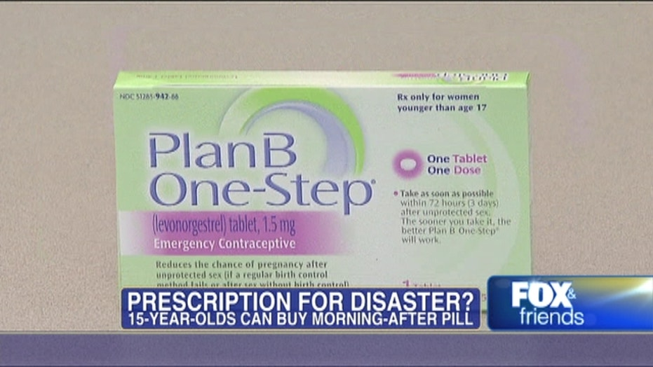 FDA Lowers Age For Buyers Of Plan B Pill To 15