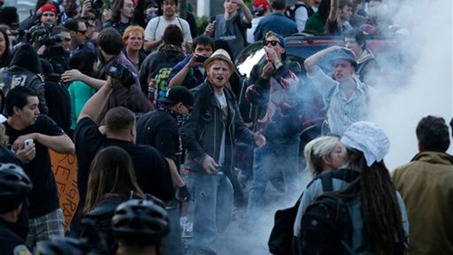 What if May Day protesters were Tea Partiers?