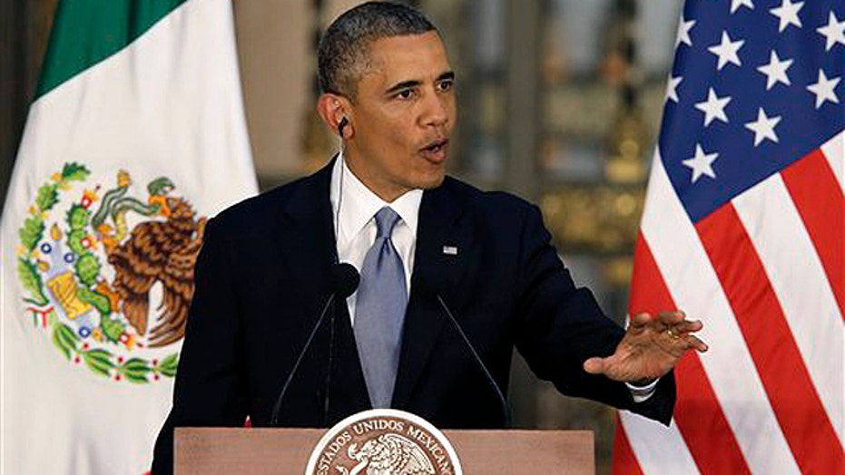Obama pushes immigration agenda in Mexico
