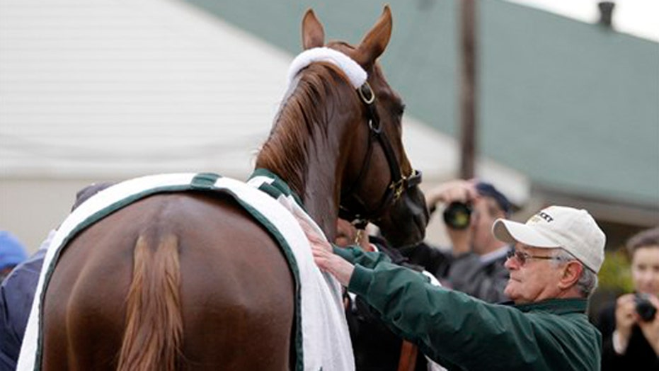 Trainer aims for glory with Derby favorite California Chrome