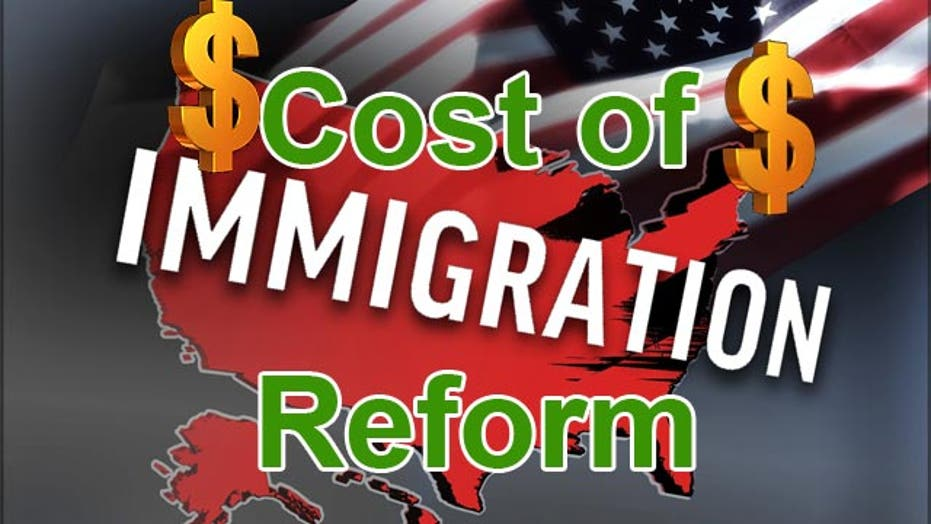 Cost of immigration bill's mass legalization: $6.3 trillion