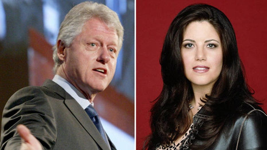 Monica Lewinsky and the Clintons