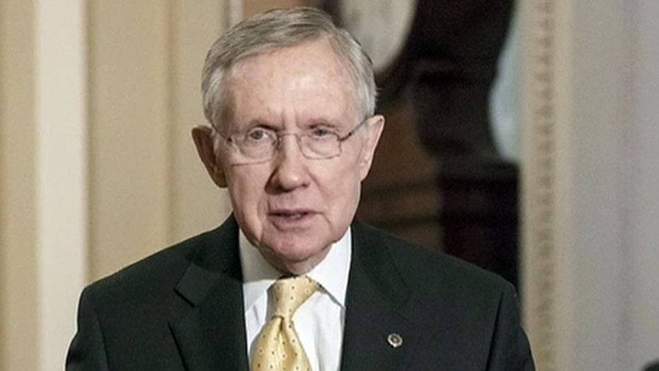 Sen. Reid suggests media give Republicans favorable coverage