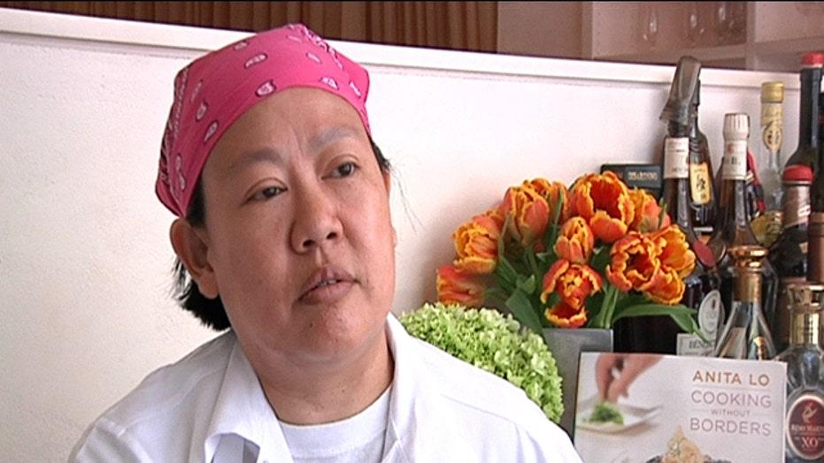 Kitchen Superstars: Anita Lo's sashimi