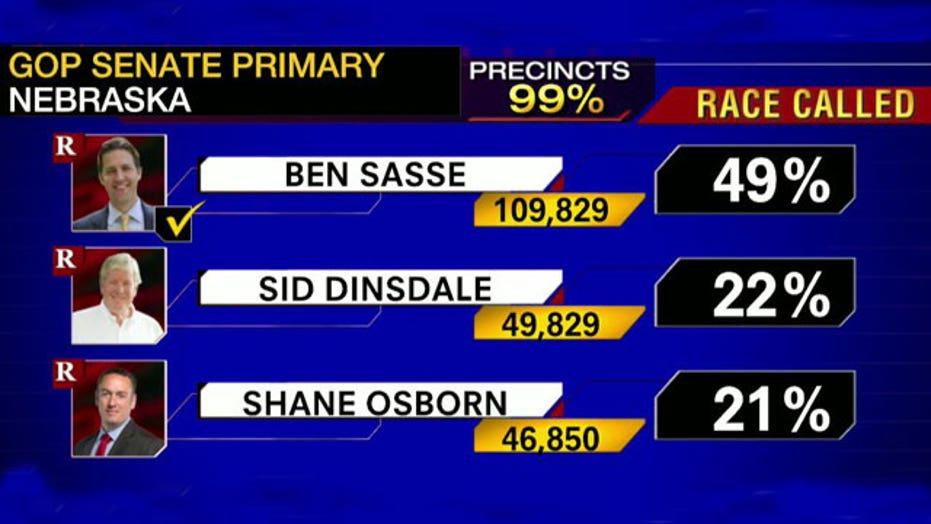 Tea Party favorite wins Nebraska GOP Senate nomination