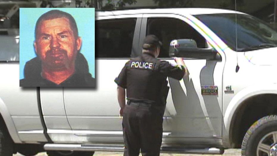 Manhunt for triple homicide suspect in California