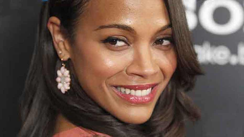 Break Time: Zoe Saldana wants to end up with a woman?