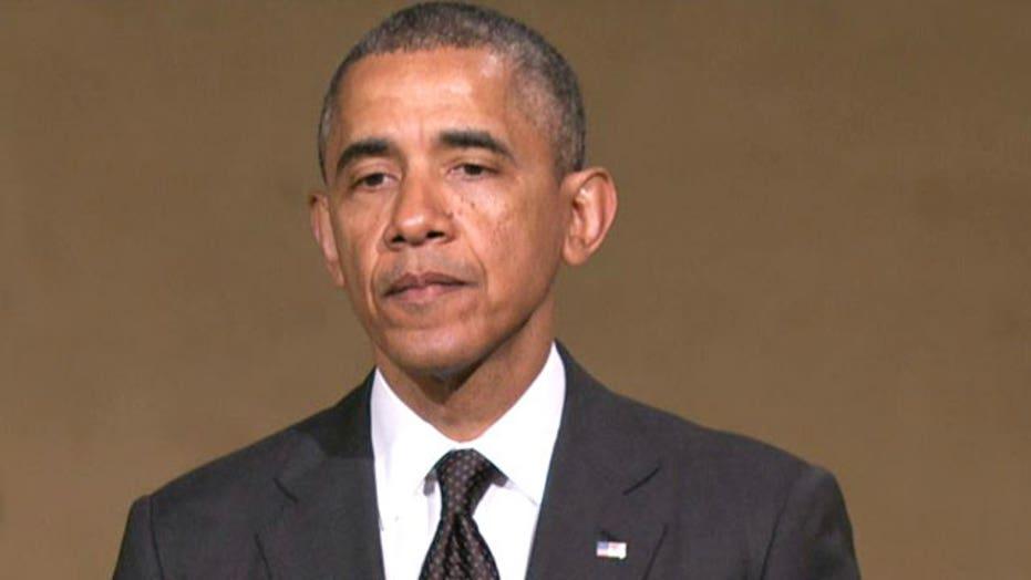 President Obama addresses 9/11 museum dedication