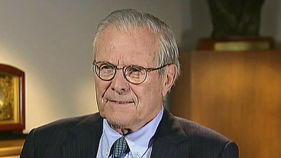Should scandal-plagued Obama follow 'Rumsfeld's Rules'?