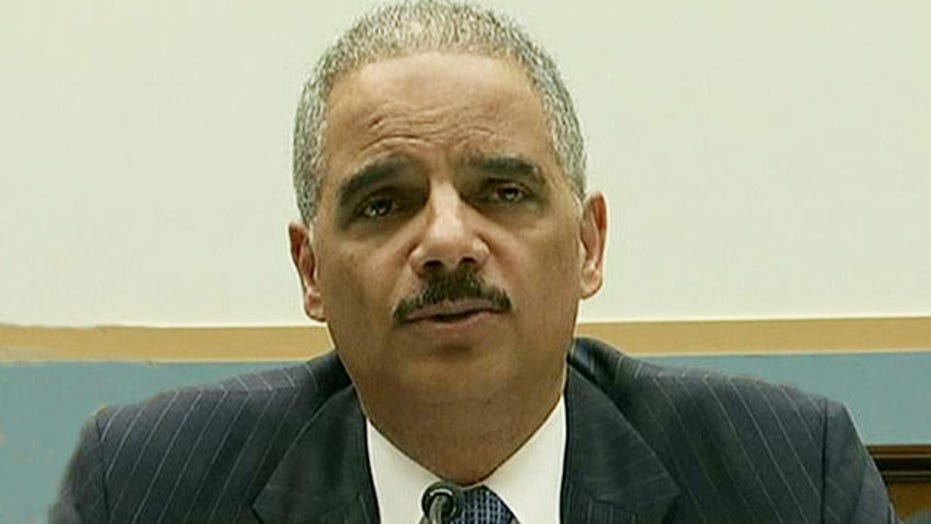 Reaction to Holder's testimony on Capitol Hill