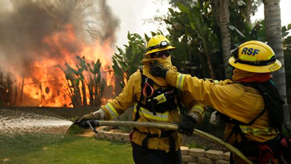California wildfires put focus on 'high-risk' areas