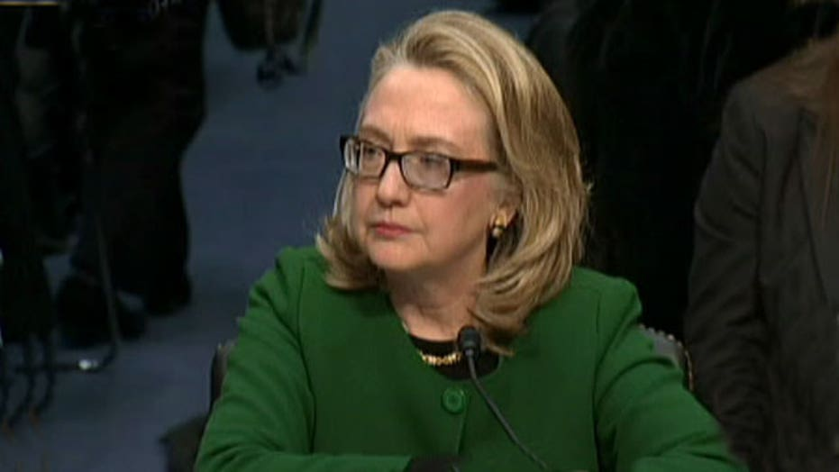 Hillary Clinton's glasses a warning sign?