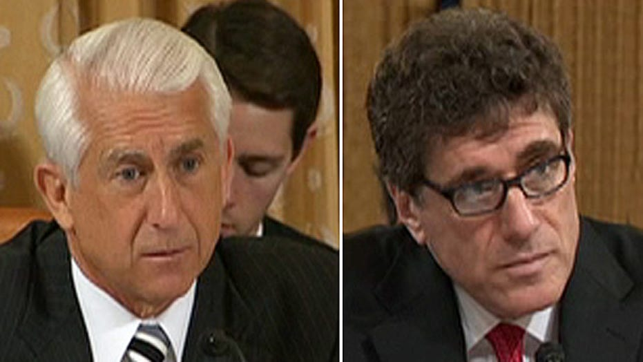 Republican lawmaker grills outgoing IRS commissioner