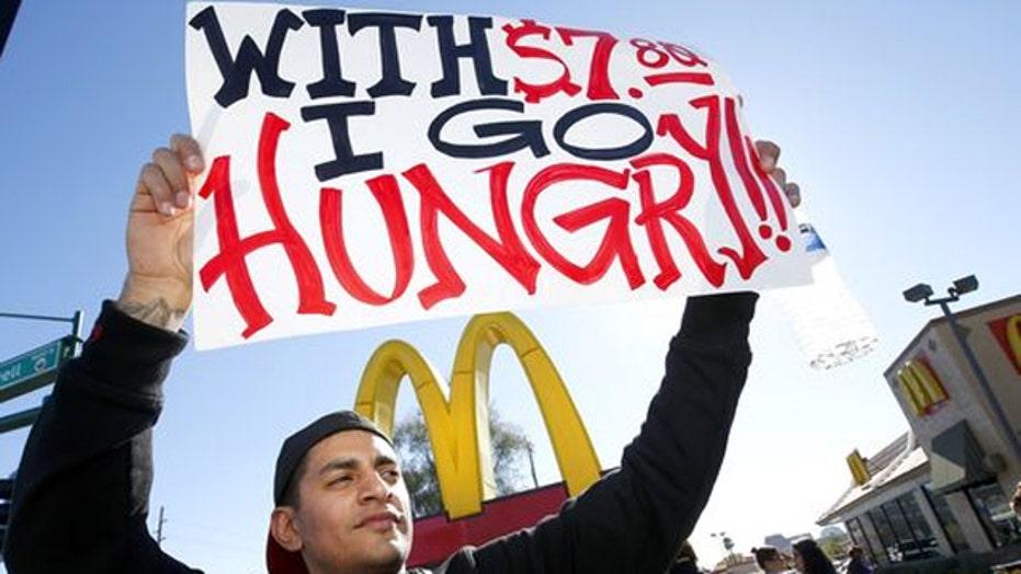 Minimum wage rage hurting job security?
