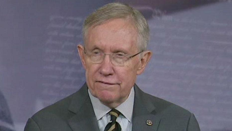 Harry Reid's Senate blockade