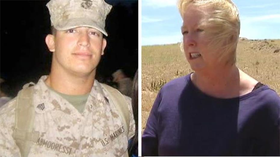 Jailed Marine's Mom: He's not a criminal, he made wrong turn