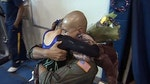 Father surprises daughter at gymnastics competition