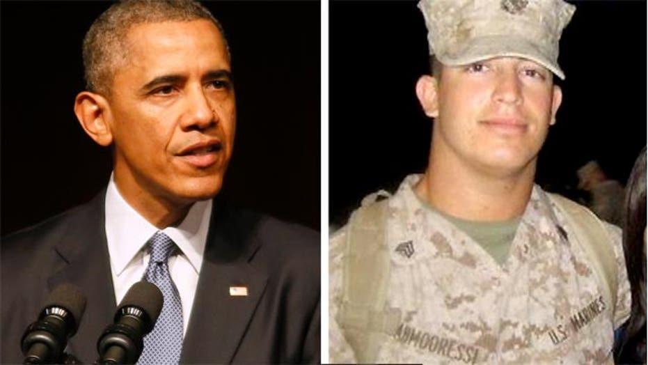 Greta: Pres. Obama, make a call, bring jailed Marine home