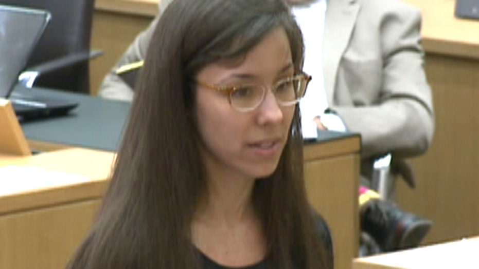 Change of heart: Jodi Arias pleads for life in prison