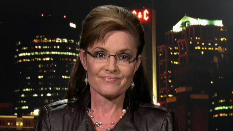 Sarah Palin discusses the left's double standard on women