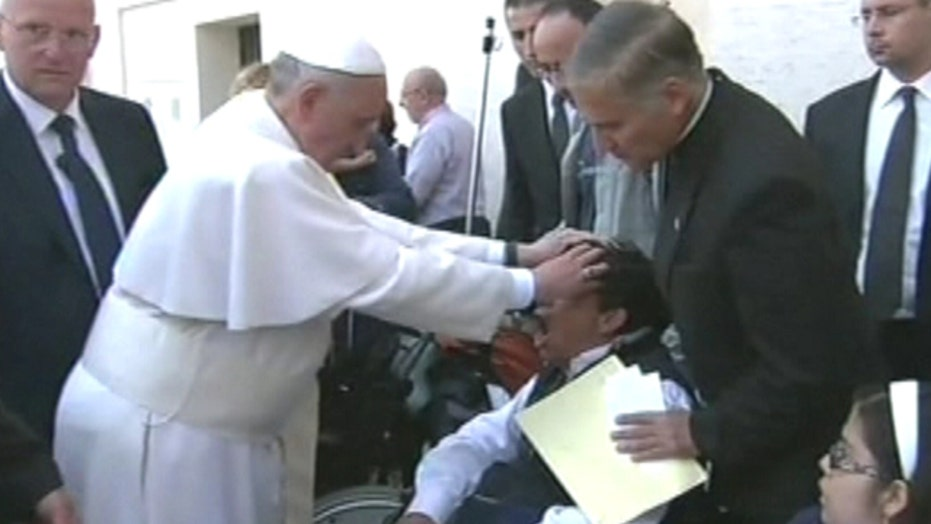 Exorcist claims Pope Francis freed man from devil