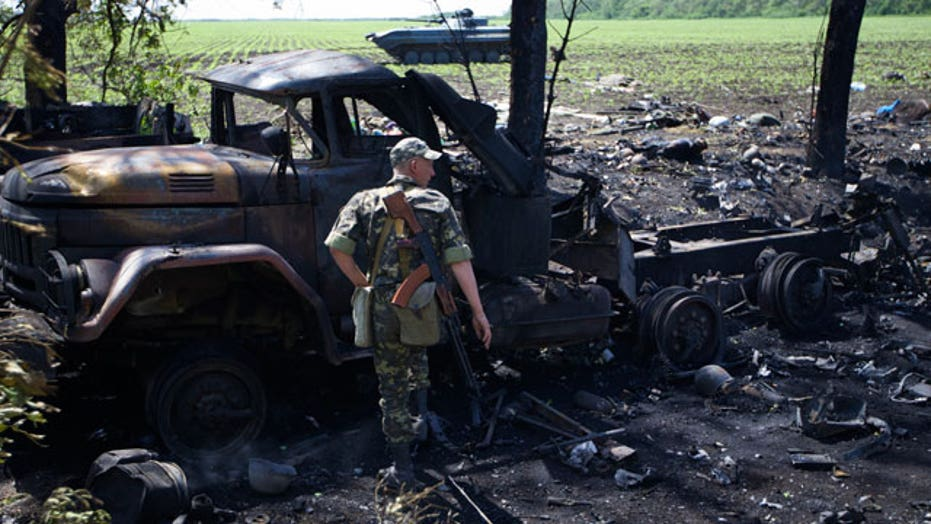 11 Ukrainian soldiers killed in deadly separatist attack