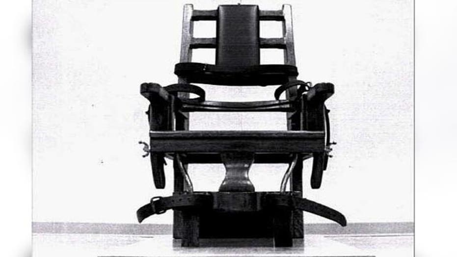 Tennessee brings back electric chair during lethal injection