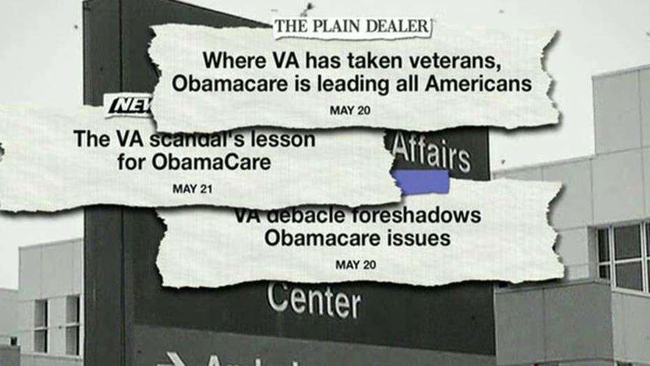 Critics: VA scandal is preview of ObamaCare