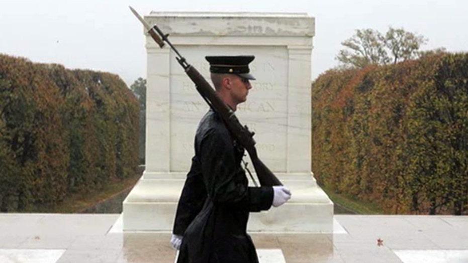 Arlington Sentinels watch guard over hallowed ground