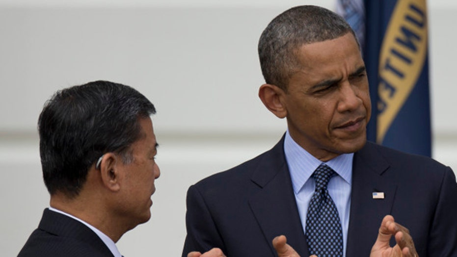 President sending wrong signal by sticking with Shinseki?
