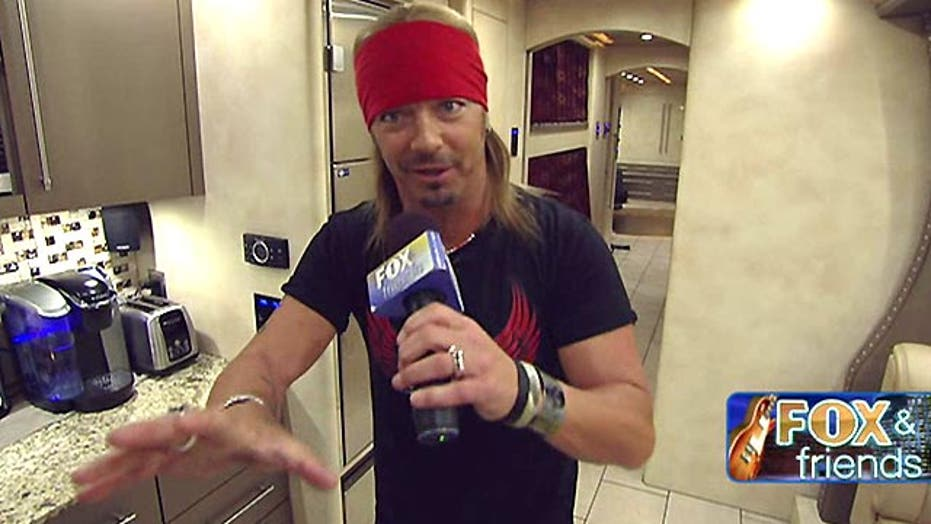 Bret Michaels' ultimate road trip