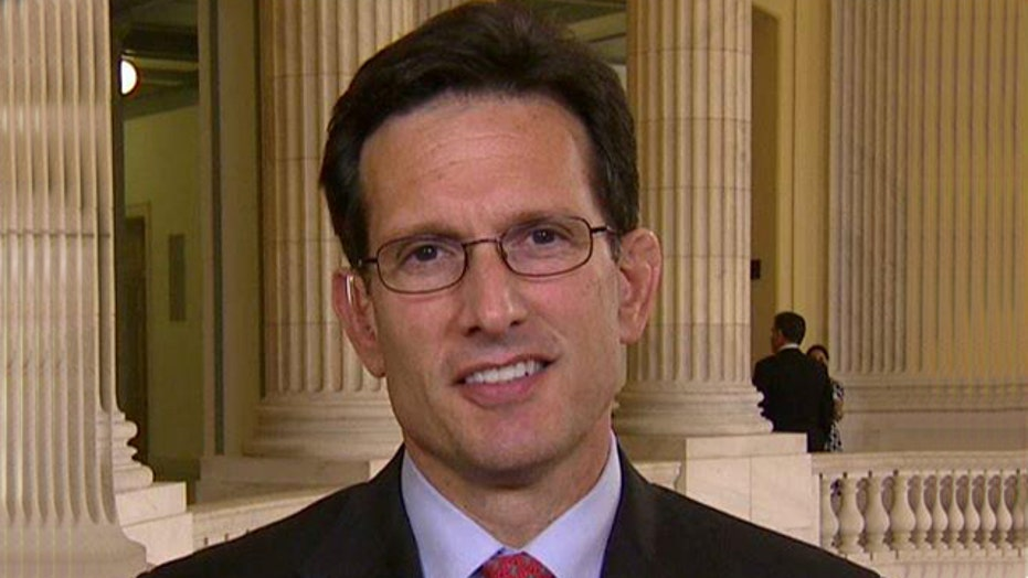 Rep. Cantor on Obama's foreign policy, VA scandal