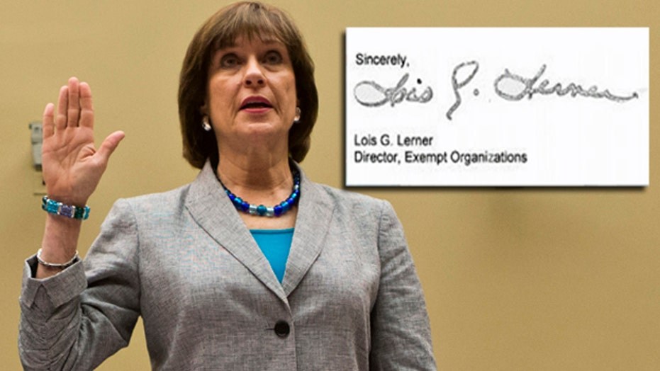 Letters show IRS higher-ups sought info on conservatives